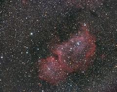 Soul Nebula (SubOrbitalBen) Tags: qhy zwo williamsoptics rockies telescope stars yyc youresa sky hubble orion ps photoshop parks physics pixinsight astrophotography alberta adobe asi071mc asi071mcpro space spacex deepsky flightdeck galaxy ngc highwoodpass hdr heartnebula jupiter soulnebula cgx zenithstar canada canmore celestron banff braggcreek nightphotography nasa nebula night milkyway mountains kananaskis lightroom lr longexposure astrometrydotnet:id=nova3115019 astrometrydotnet:status=solved