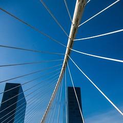 Bridge (michael.heiss) Tags: spain spanien baskenland basque bilbao bridge brücke