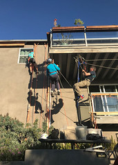 009 Let's Get This Party Started (saschmitz_earthlink_net) Tags: 2018 california southerncaliforniagrotto christmasparty losangelescounty baldwinhills windsorhills party climbing practice