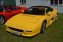 Ferrari F355 Spider (CA Photography2012) Tags: n111bye auto italia italian car day brooklands motor museum 2018 surry uk united kingdom ca photography automotive exotic spotting vehicle automobile exotics ferrari f355 spider v8 supercar classic special mid engine prancing horse sportscar super sports gt grand tourer cruiser engined midships