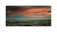 Los Angeles Sunset (Ian Bramham) Tags: losangeles sunset panorama pano view