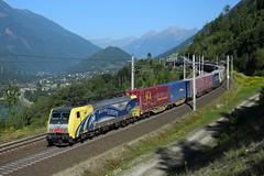 189 912, TEC 41850. Kolbnitz (M. Kolenig) Tags: tauernbahn berg wald baum