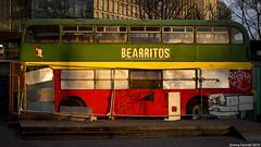 Bearritos Bus in the Bearpit (zolaczakl) Tags: bristol bearpit stjamesbartonroundabout bus bearritos 2019 abandoned nikond800 nikonafsnikkor50mmf18glens uk england photographybyjeremyfennell jeremyfennellphotography january