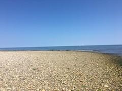 Rock home (hannaschmitz) Tags: capecod ma massachusetts sandwichma beach shore water sand sky nature