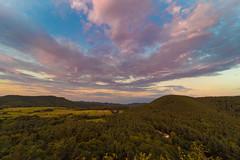Aussicht vom Drachenfelsen (Jana`s pics) Tags: drachenfelsen sonnenuntergang abend abendstimmung pfalz wandern sommer wolken himmel sunset evening eveningmood hiking summer clouds sky farbenfroh colorful
