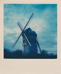 Windmill of Watten, France. (Nanouf1973) Tags: windmill watten france landscape polaroid flanders