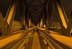 railway (Csongrádi Ádám) Tags: bridge night nightshoot duna railway hungary