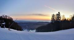 Before sunrise, Jahodna ski resort, Kosice, Slovakia (Govisity.com) Tags: kosice jahodna lajoska chata mountain cottage forest les winter snow sunrise slovakia slovensko region