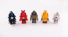 "Centurion Power Armour Part 1 (Hammerstein NWC) Tags: lego moc custom figbarf colours colour fun play minifig ""galaxy rangers"""