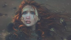 Candy (✰✰Nubyia Photography✰✰) Tags: secondlife sl nubyia pileup painting autumn winter redhead