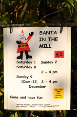 Holgate Windmill - Santa weekends 2018