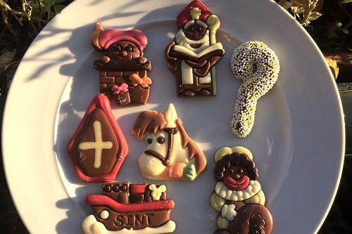 Sinterklaas arrived in town