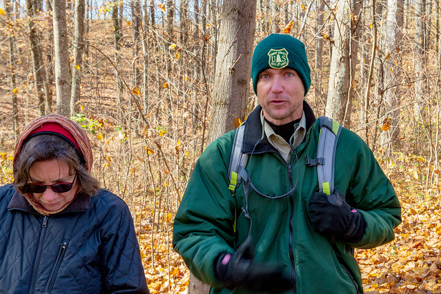 Hoosier National Forest - Sierra Club Hike with Mike - Fork Ridge Trail - November 10 2018