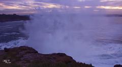 Olas ..! (Camelia-5) Tags: mera coruña olas mar agua