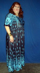 My First Maxi-dress (annad20061) Tags: redhead dress diva mature matronly glasses enfemme