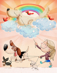 I never get tired of drawings dogs and the people that love... (fannie.bowater) Tags: funny quotes message sayings signs