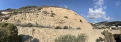 Panorama of Miocene Monterey Formation (?) rocks, Moro Canyon parking area, Ctystal Cove State Park, Orange County, California (ArgyleMJH) Tags: geology sedimentary rocks miocene pliocene montereyformation capistranoformation siltstone mudstone layers marine crystalcove orangecounty pacificocean california