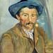The Smoker (Le Fumeur) (1888) by Vincent Van Gogh. Original from the Barnes Foundation. Digitally enhanced by rawpixel.