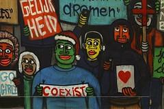 COEXIST (just.Luc) Tags: think political protest graffiti grafitti streetart urbanart ghent gent gand oostvlaanderen ostflandern flandreorientale vlaanderen flandres flanders eastflanders belgië belgien belgique belgium belgica europa europe