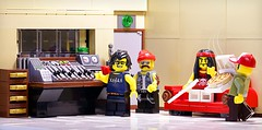 The recording studio (Frost Bricks) Tags: lego moc recording studio