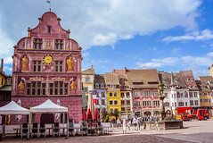 France - Mulhouse - Hôtel de ville (andrei.leontev) Tags: france frankreich alsace grandest mulhouse centre ville city center hôteldeville muséehistorique hautrhin 68