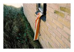 Husby Klit, Denmark, 2018 (csinnbeck) Tags: analog film contax rx portra 160 kodak 35mm towel summer denmark 3528 t zeiss distagon window open