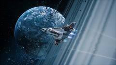 Rings (nicksoptima) Tags: space everspace scifi screenshot rockfish starship