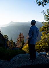 Kurt and smoke (JSGraustein) Tags: tuolumnecounty california sierranevadamountains ca108 donnellvista overlook kurt smoke ridge