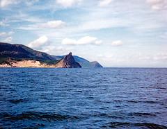 Scan11_Buhta (SmoKingTiger1551) Tags: russia analog lake baikal rocks mountains buhta port