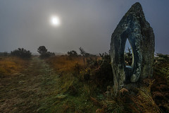 Magic Brittany (yann2649) Tags: finistere montdarrée sky sunrise cloud sun horizonoverland tree clearsky landscape hill skyline celtic brittany contryside bretagne france europe field brume fog foggy menhir stone atmosphère autumn automne