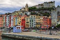 Porto Venere dopo la bufera (danilocolombo69) Tags: torri fortezza case portvenre danilocolombo danilocolombo69 nikonclubit mare