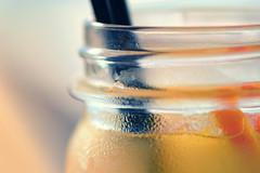 Bottleneck (victoriameyo) Tags: bottleneck smileonsaturday glass bottle beverage closeup orange lemonade tube object drink fresh refreshment