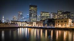 San Francisco Financial District (Axim2013) Tags: sanfrancisco california unitedstates us nikon nikond810 color myphotoproject night raykwa photo blue