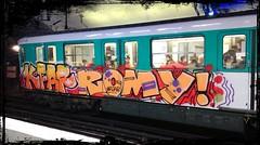 Graffiti KFAR ROMY Paris Metro Ligne 12 (Erder Wanderer) Tags: kfar romy graffiti metro subway paris ratp trainwriting trainbombing spraypaint aerosol cofr asab ligne12 graff graffitiporn nicestyle graffitiontrain vandalisme vandal sachbeschädigung