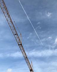 Parallels #sky #himmel #vscocam #vsco #kran #crane #lines #linien #cloudporn #dormagen