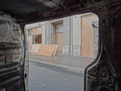 LCL (.L.C.) Tags: paris riot manifestation avenuekleber 75016
