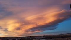 November 16, 2018 - A stunning sunset. (David Canfield)