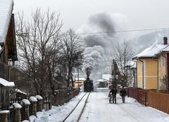 Street Running (Kingmoor Klickr) Tags: reșița resita moldovița moldovita 764431 buconina romania industrial narrow gauge railway