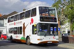 HESSLE 170816 YX51AYH (SIMON A W BEESTON) Tags: hessle 669 eyms eastyorkshire plaxton volvo b7tl yx51ayh