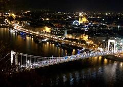 The Chain Bridge (RobW_) Tags: chain bridge gellert hill citadella budapest hungary amaviola danube 16nov2018 november 2018