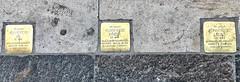 Sidewalk Name Plates (RobW_) Tags: sidewalk name plates jewish holocaust victims budapest hungary amaviola danube 16nov2018 november 2018