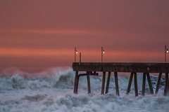 final push (pbo31) Tags: bayarea california nikon d810 color december 2018 boury pbo31 pacifica sanmateocounty sunset ocean pacific storm tide coast wave sky west water beach shore pier crash swell orange