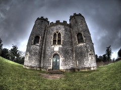Right, how do we get into this Castle (RS400) Tags: blaise castle hr bristol cool wow amazing photography travel uk olympus landscape grass sky clouds outside southwest fish eye lens hdr edit