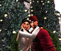 But first...Let's Take a Selfie (maka_kagesl) Tags: secondlife sl second life game gaming ground grass garden green virtual videogame tree trees xmas christmas snow selfie