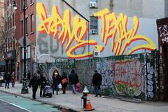 gane texas take back the spot (Luna Park) Tags: ny nyc newyork graffiti rollers texas gane lunapark manhattan false lex