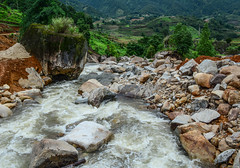 Strong and danger cold flowing river water (phuong.sg@gmail.com) Tags: adventure asia asian autumn beautiful beauty blue clean cold cool creek danger dangerous environment flow flower flowing forest fresh grass green impact landscape mountain mystic mystical national natural nature northwest park river rock sapa spring stone storm stream strong summer sun tourist travel vietnam water wild