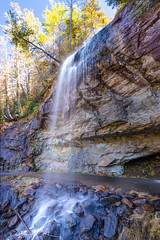 bridle veil falls side (McMannis Photographic) Tags: landscape waterfall highlands northcarolina bridleveilfalls photography destination travel landscapeandnature carolinas cascade cascadingwater explore nc runningwater southeast tourism whitewater