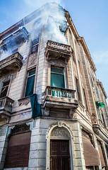 spraying for ziki (aprilpix) Tags: architecture building cityscape cuba cubaroadtrip havana oldtown streetscene urban