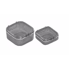 Sterilization Micro Woven Mesh Basket with Attached Lid and Lock 70 x 70 x 30 mm (jfu.industries) Tags: 304 astm basket baskets cassette health healthcare hospital industries jfu jfuindustries lid lock medical mesh micro pakistan sialkot stainless steel sterile sterilisation sterilization sterilizing surgery trays wire woven