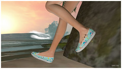 Do do do do dodo (frankieedon) Tags: second life shark baby beach shoes sunset